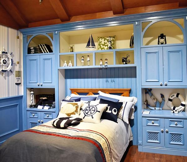 地中海式实木整屋