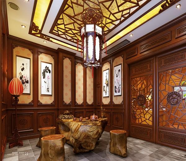 新中式实木整屋