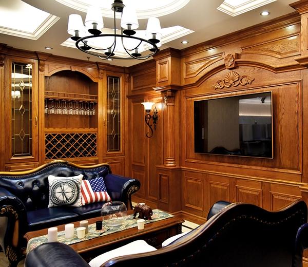 美式实木整屋